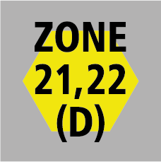 atex zone 21, 22 (dust)