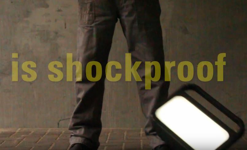 shockproof portable work light