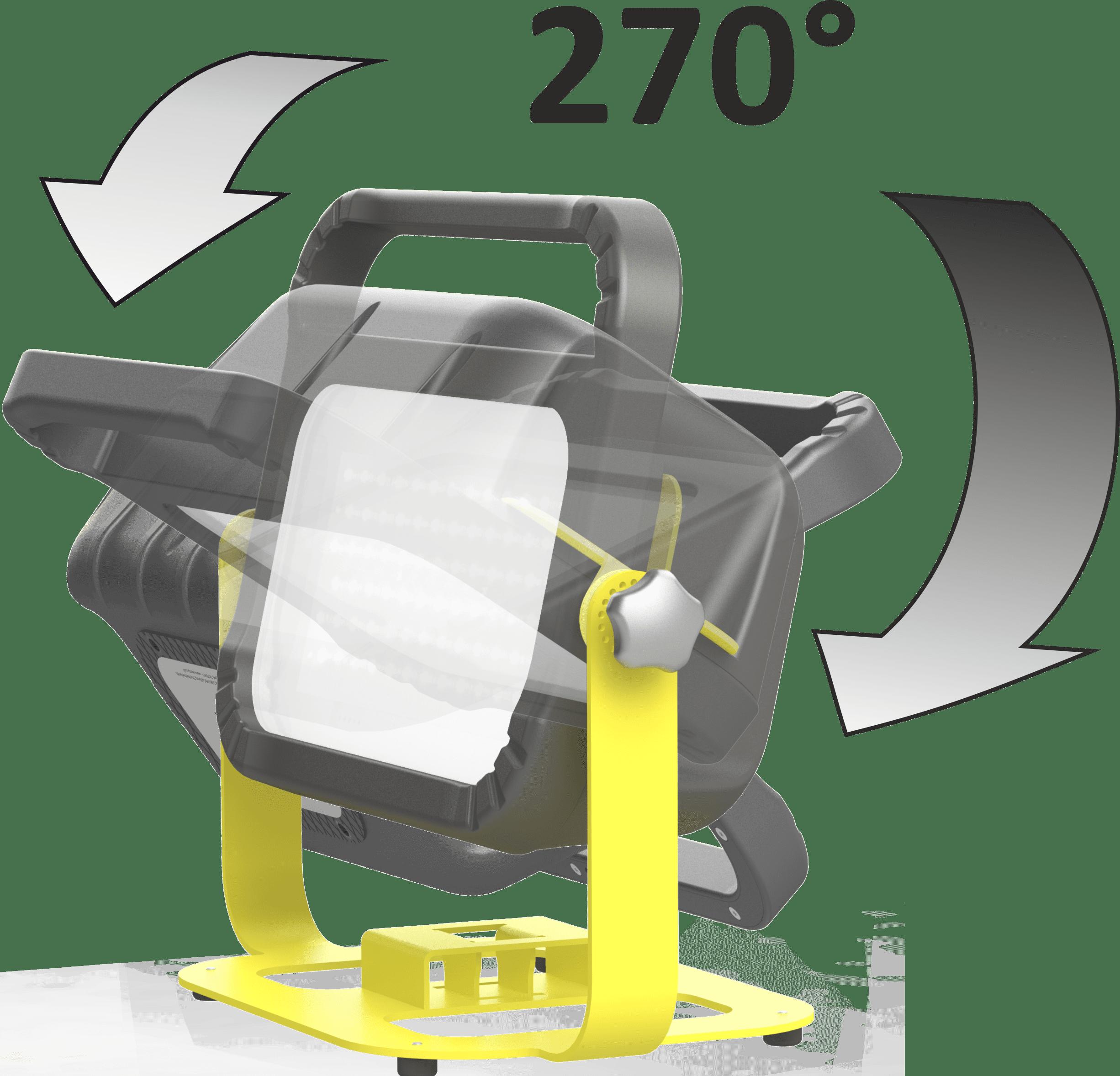 floor bracket subframe turning circle work light
