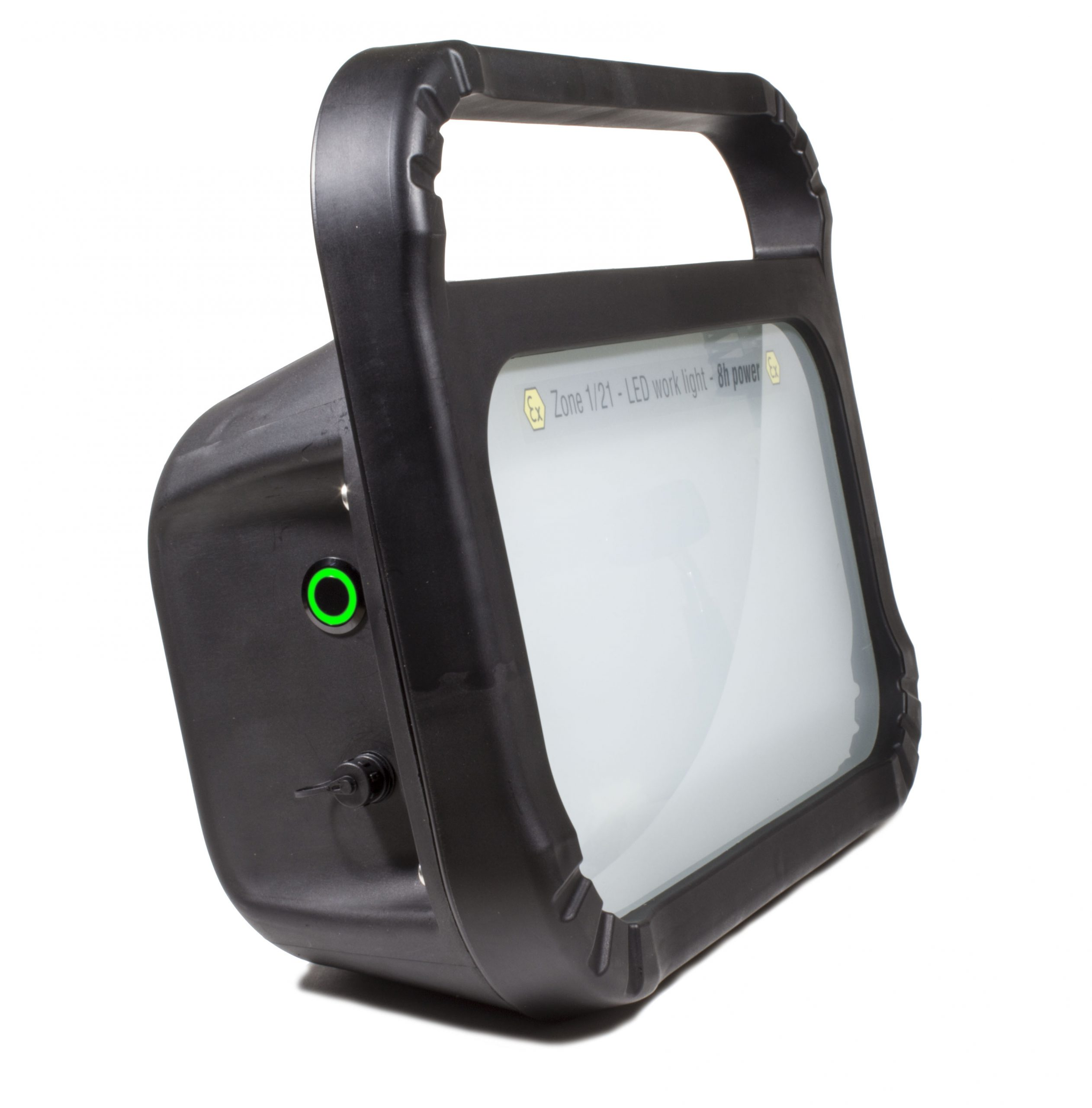 atex rechargeable ultra2 led floodlight-side